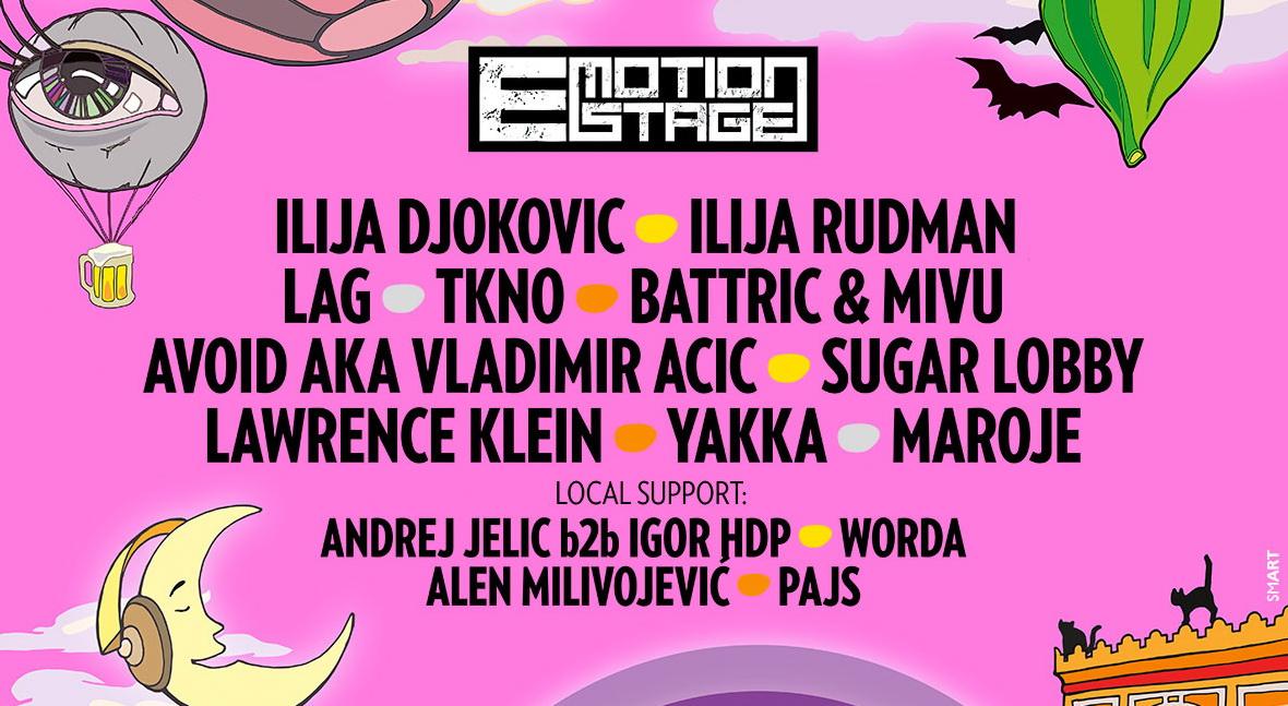 Najbolji regionalni DJ-evi na najjačem e-MOtion stageu do sada!