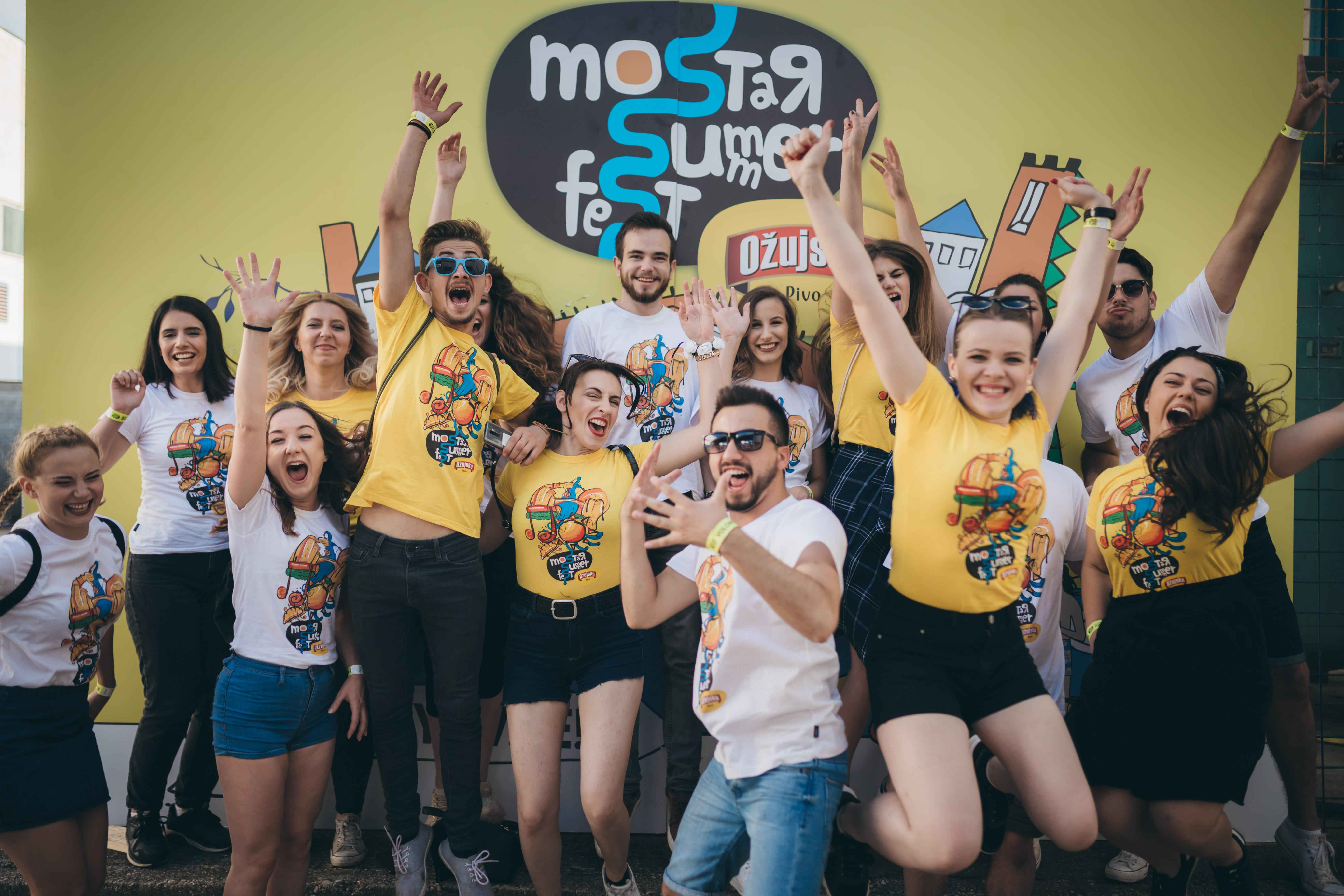 Postani volonter Mostar Summer Festa!