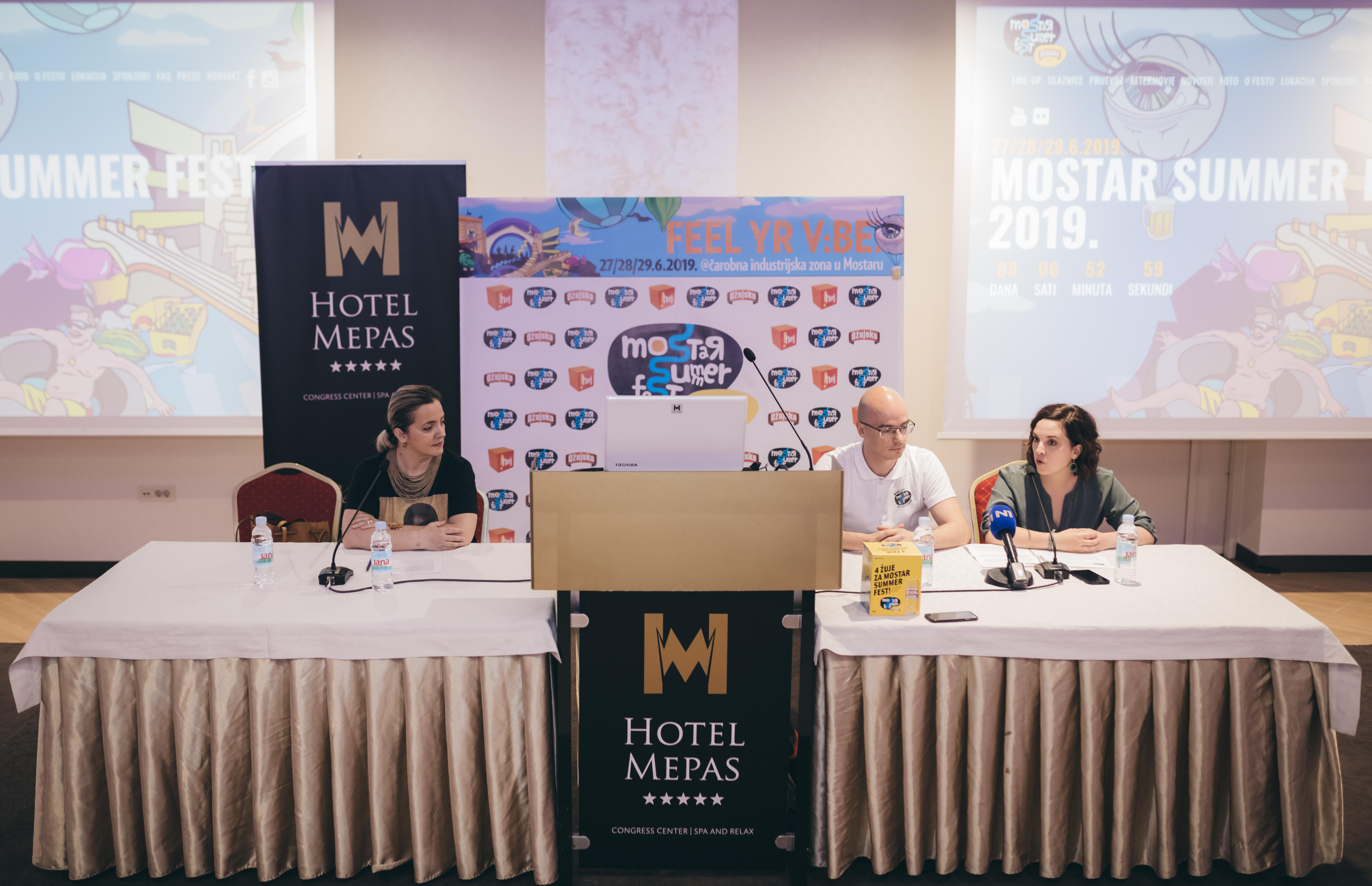 7. MOSTAR SUMMER FEST: Na press konferenciji najavljeno najjače izdanje sa preko 28 izvođača i 3 festivalska dana!
