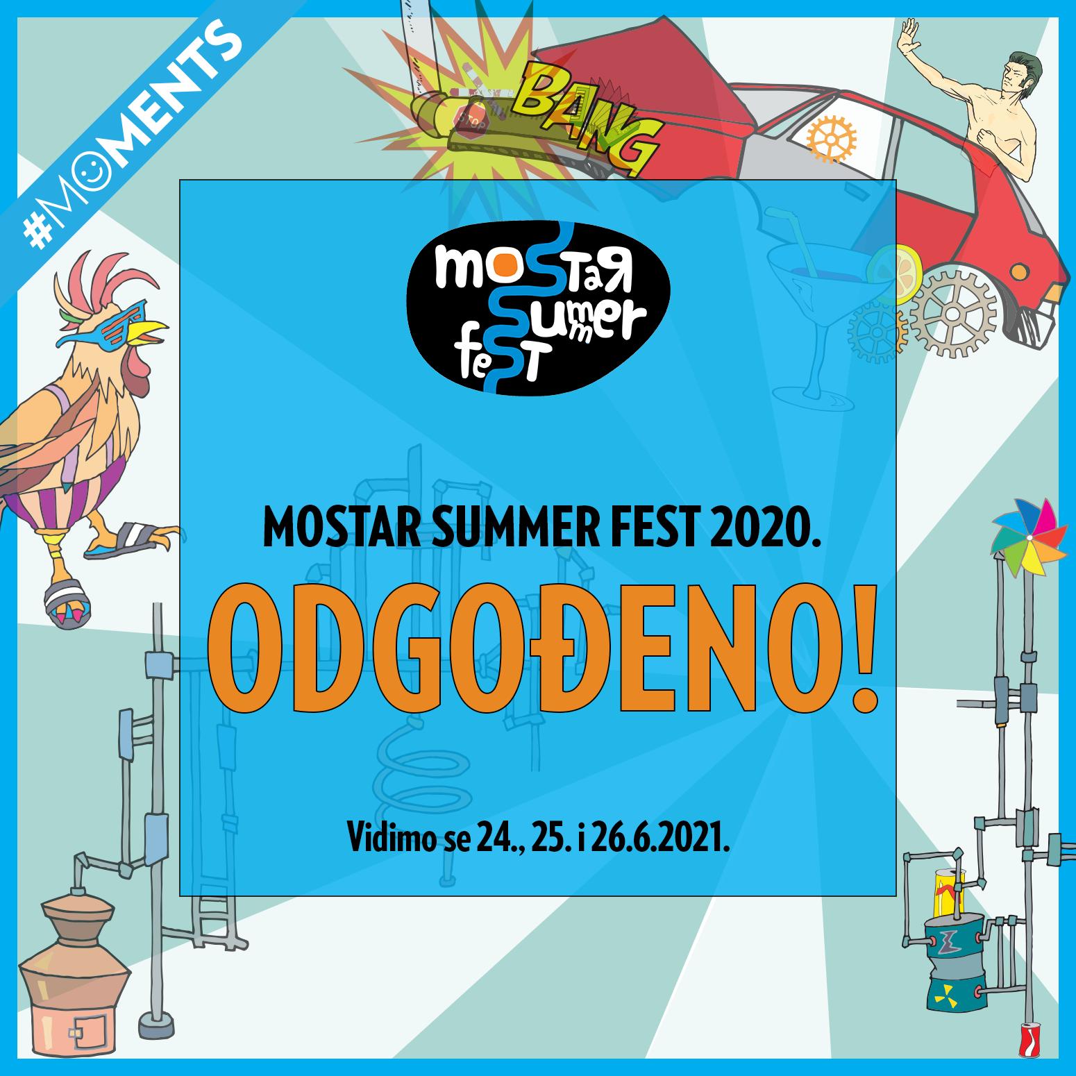Mostar Summer Fest odgođen, poznat novi datum održavanja
